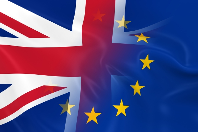 British and European Relations Concept Image