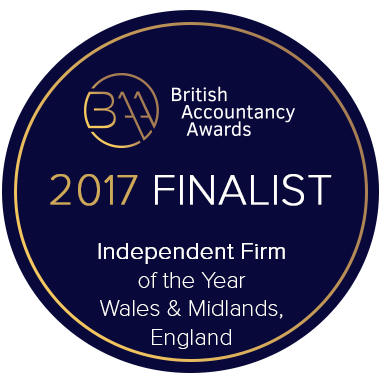 Green& Co BAA2017 - Finalist Badge - Independent firm of the Year - Wales & Midlands, England