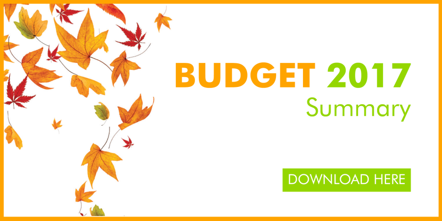 Autumn Budget Summary - Green & Co
