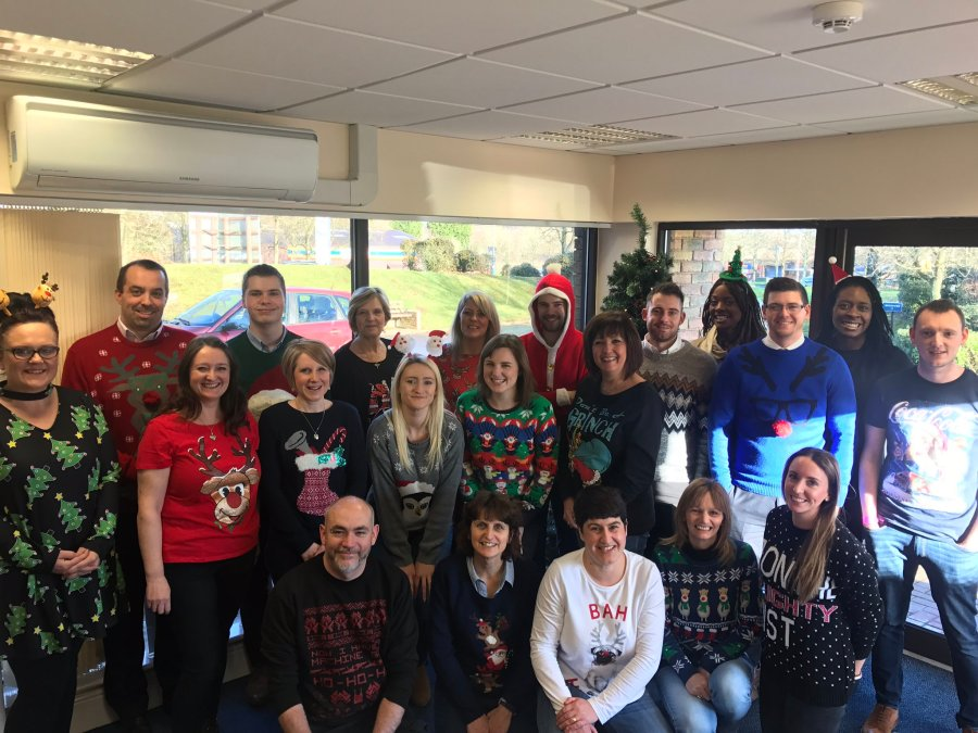 Green & Co Christmas Jumper Day