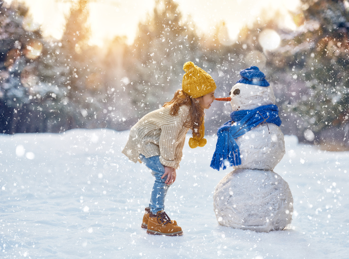 Snow man to show adverse weather conditions and how your business can deal with it when it happens.
